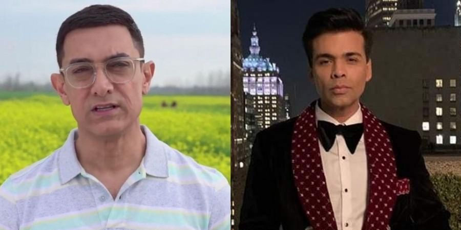 A few of the producers who have approached the Delhi High Court include Aamir Khan (L), Karan Johar (R), Salman Khan and more.
