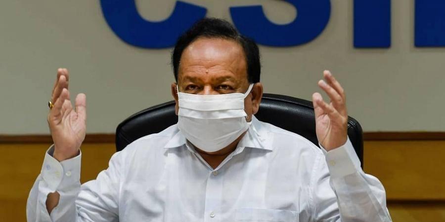 Union Health Minister Dr. Harsh Vardhan (Photo | PTI)