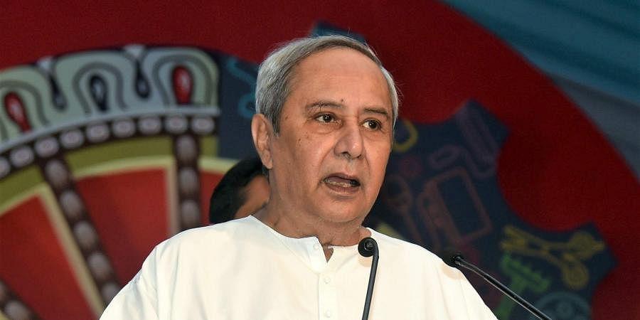Chief Minister Naveen Patnaik.