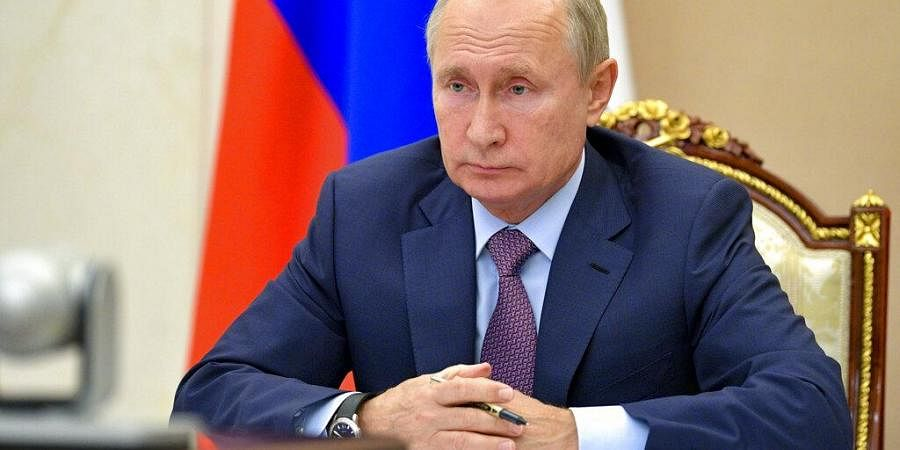 Russian President Putin Warns Against Politicising Covid 19 Vaccine Issue The New Indian Express