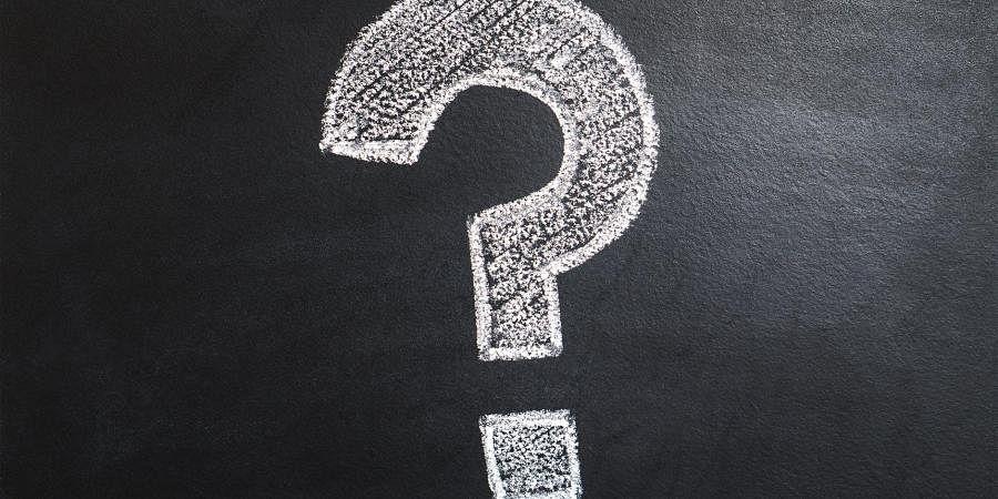 question mark quiz