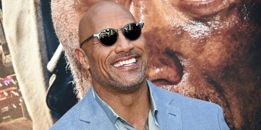 Hollywood actor Dwayne Johnson
