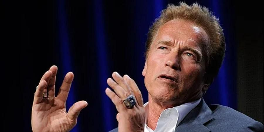 Hollywood actor Arnold Schwarzenegger