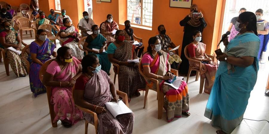Parents gave their feedback on reopening of schools by attending the meetings organised at Presidency Higher Secondary School in Chennai