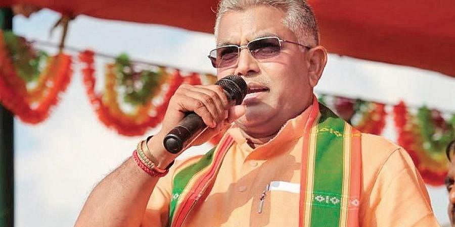 West Bengal BJP president Dilip Ghosh.