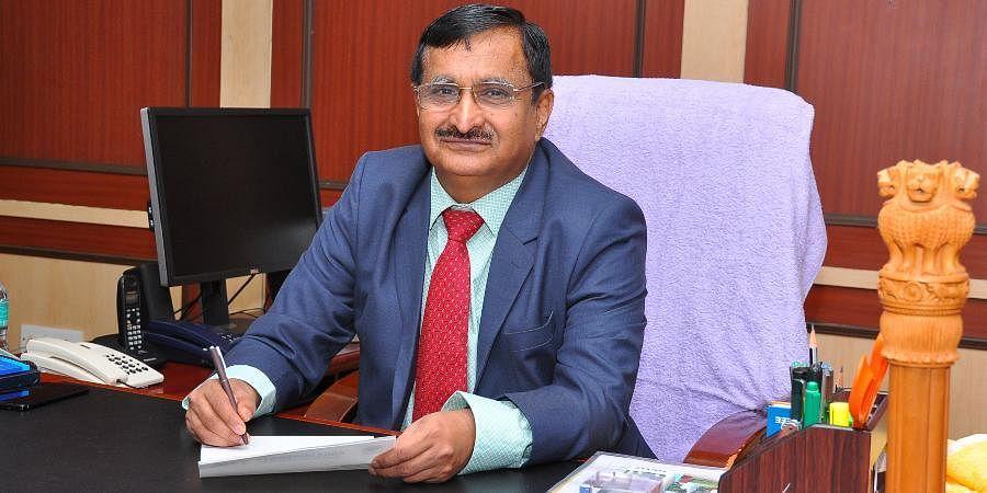 Anna University Vice Chancellor MK Surappa