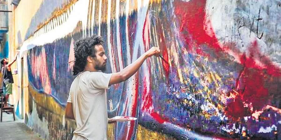 The previous Students' Biennale saw a healthy participation of 112 fine art students chosen from India, Bangladesh, Bhutan, Sri Lanka, Pakistan and Nepal
