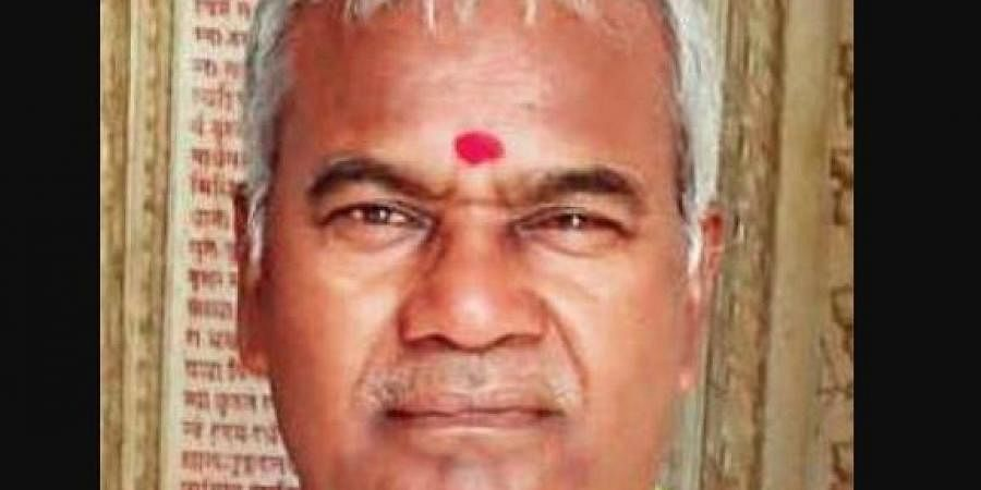 Dalit leader Kameshwar Chaupal