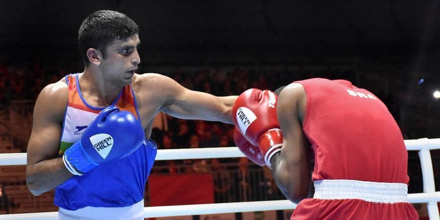 Indianboxer Manish Kaushik