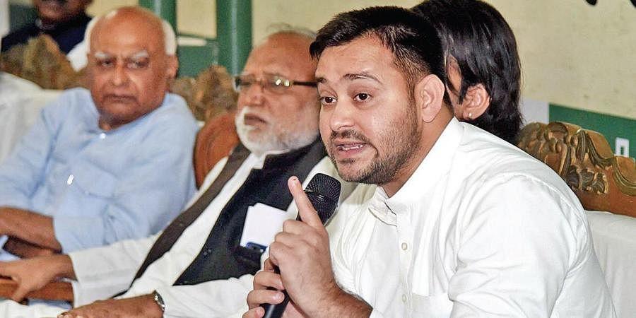 RJD's Tejashwi Yadav has claimed that NDA won the Bihar elections through 'deceit'.