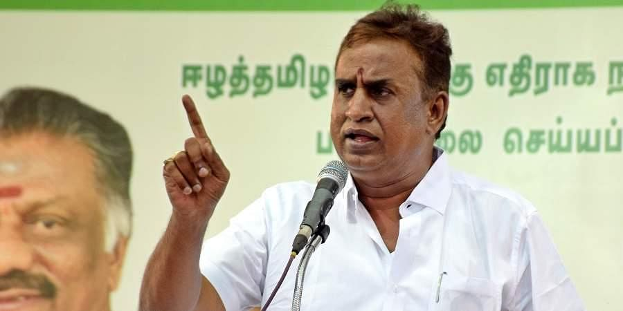 Tamil Nadu minister SP Velumani