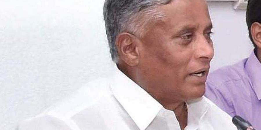 Karnataka Housing Minister V Somanna