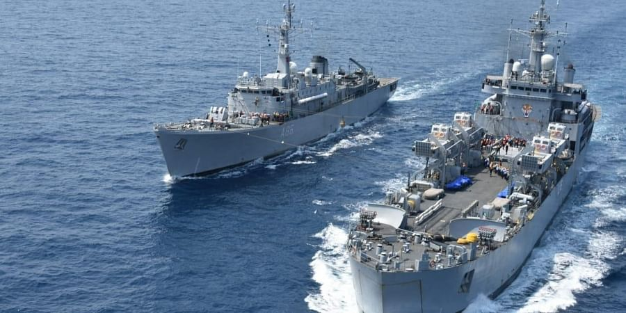 The first phase, held from November 3 to 6, witnessed complex and advanced naval exercises