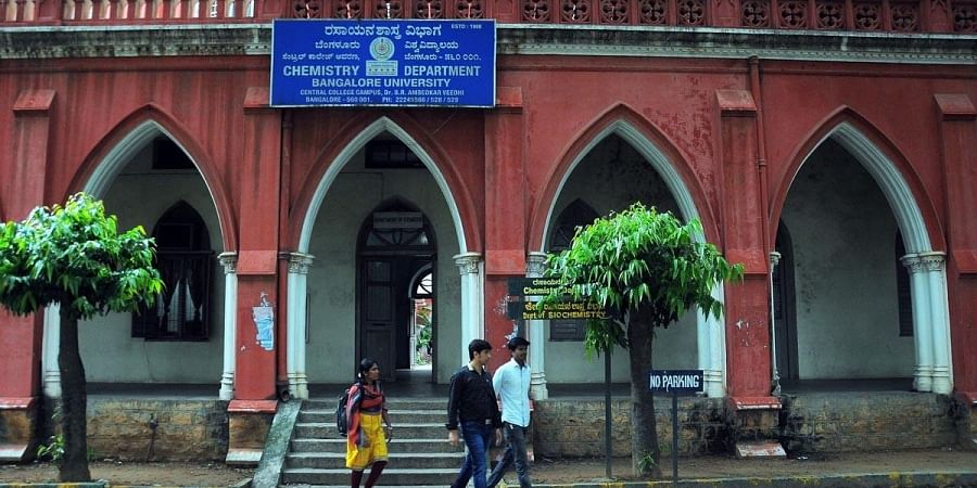 The Chemistry Department on the Central College campus shifted to Jnana Bharathi campus of Bangalore University. (Photo| Vinod Kumar T, EPS)