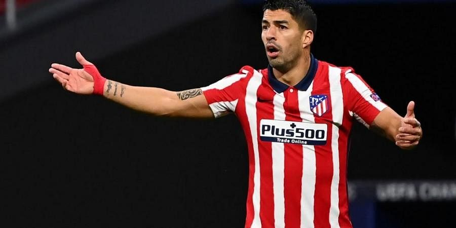 Atletico Madrid's Uruguayan forward Luis Suarez. (Photo | AFP)