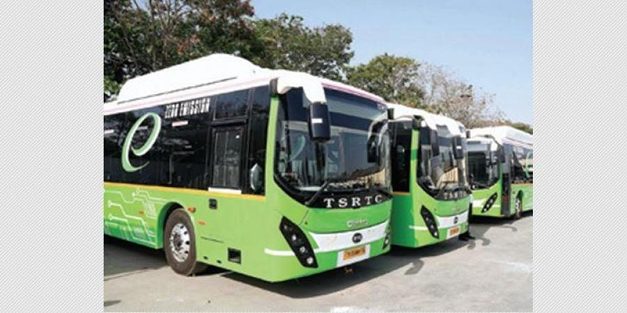 TSRTC buses, Telangana buses