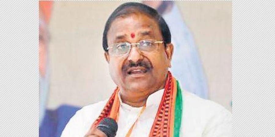 BJP State president Somu Veerraju