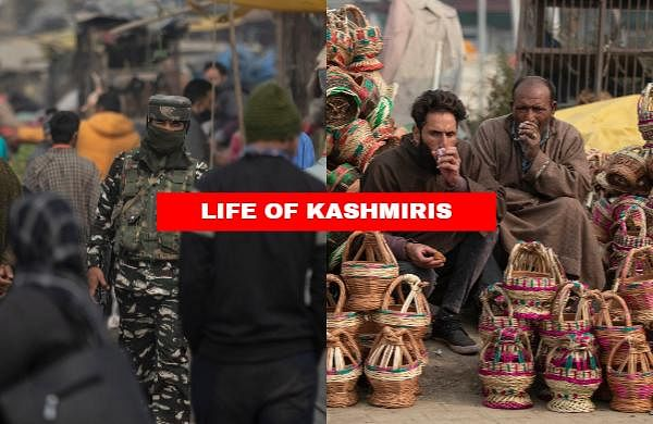 Check out a few snaps that give a glimpseinto the life of people inKashmir.