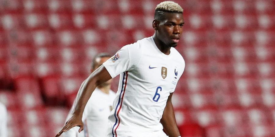 France striker Paul Pogba