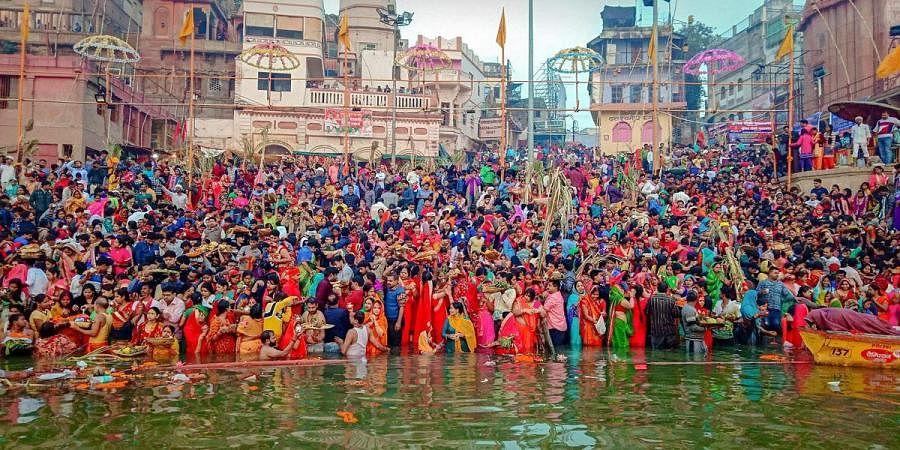 Chhath Puja, Varanasi