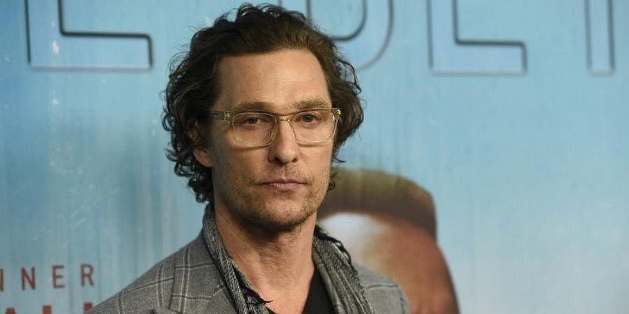 Hollywood actor Matthew McConaughey