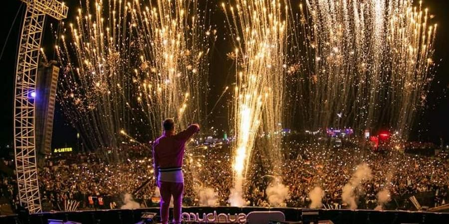 File image of Sunburn Festival from previous years. (Photo   Twitter)