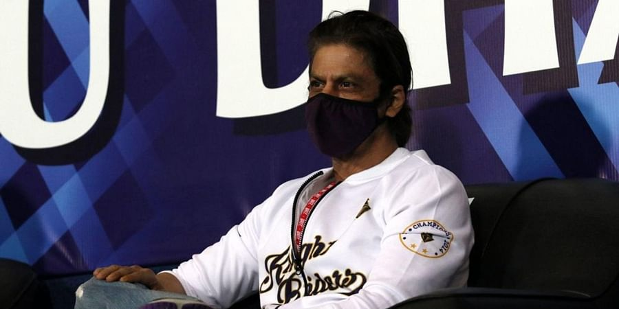 Shahrukh khan owner of KKR during match. (Photo   IPL)