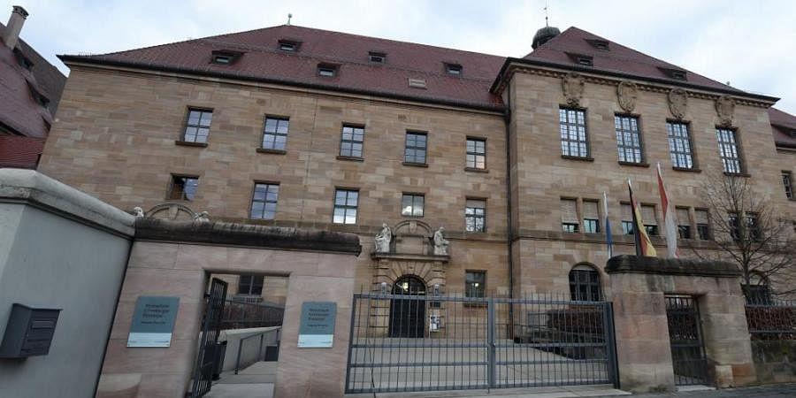 Outside view of the building 'Memorium Nuremberg Trials' in Nuremberg. (Photo  AFP)