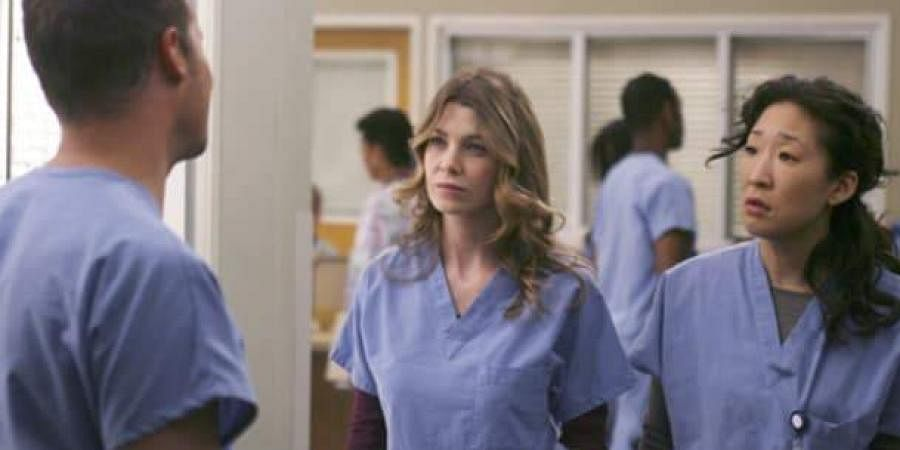A shot from 'Grey's Anatomy'