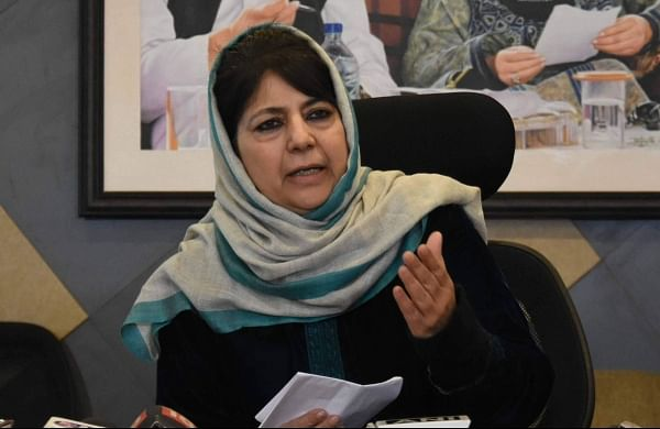 'Centre persecuting Kashmiri politicians': Mehbooba on PDP leader's continued detention