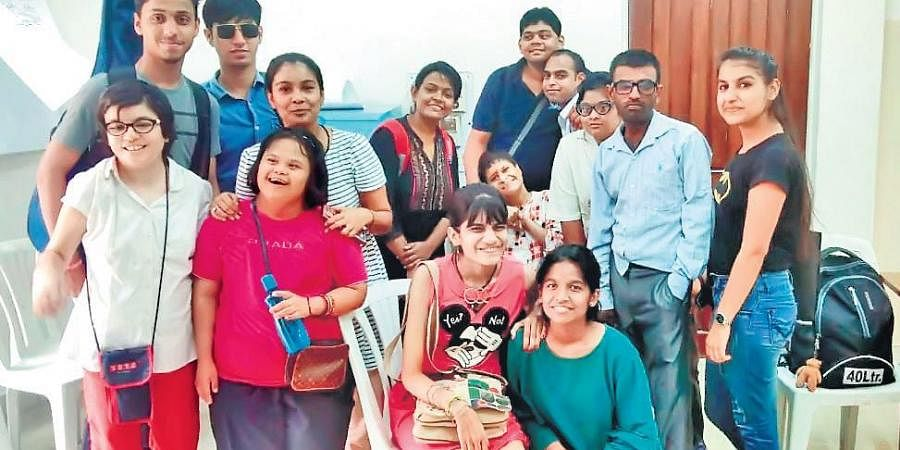 NGO Manzil Mystics holds online music classes for the underpriviledged, special and autistic children; (below) Co-Founder Preeti