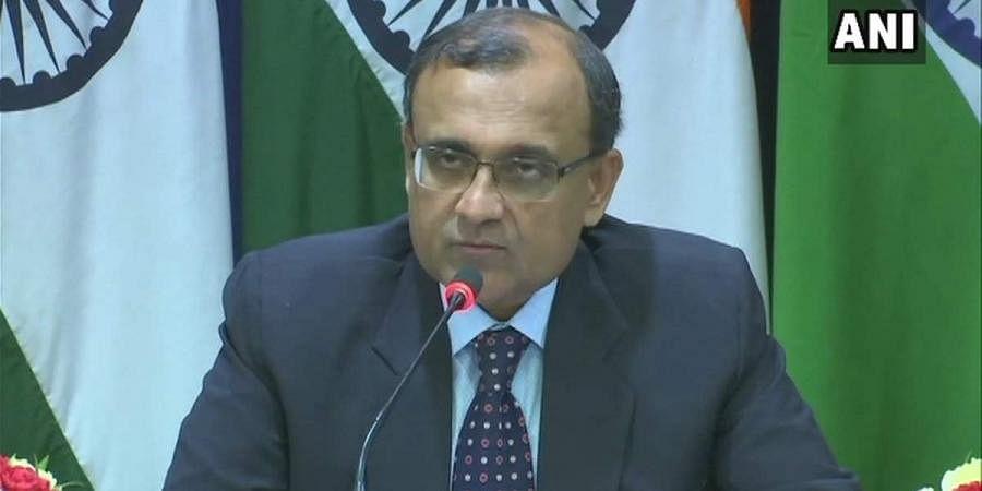 Indian Ambassador to UN Secretary TS Tirumurti