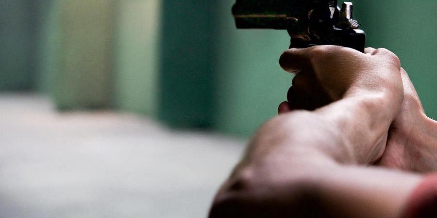 gun, firing