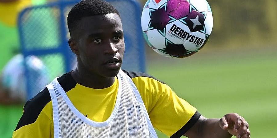 Borussia Dortmund's forward Youssoufa Moukoko. (Photo | AP)