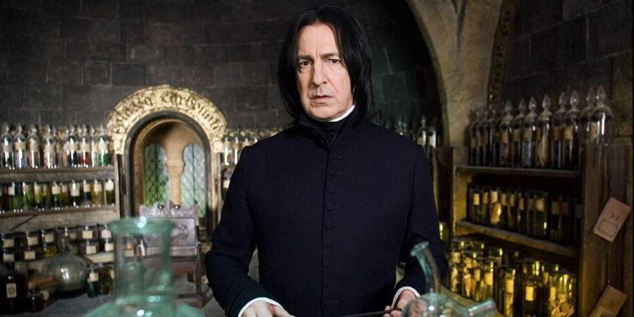 Late actor Alan Rickman