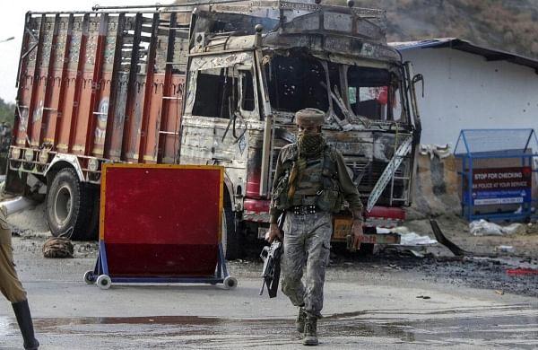 Tunnel likely used by slain Jaish men unearthedalongInternational Border