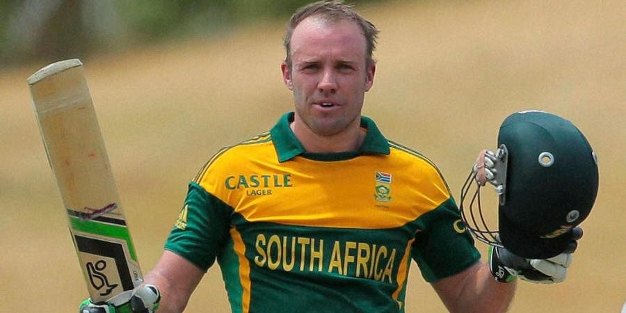 South African cricketer AB de Villiers