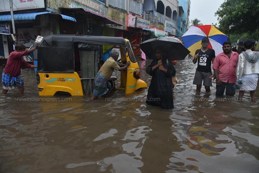 Chennai rains Chennai flood Cyclone Nivar