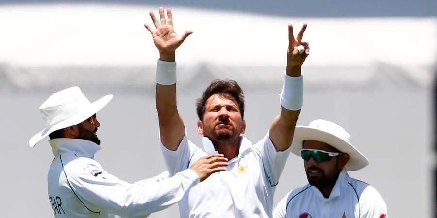 Pakistan cricketer Yasir Shah