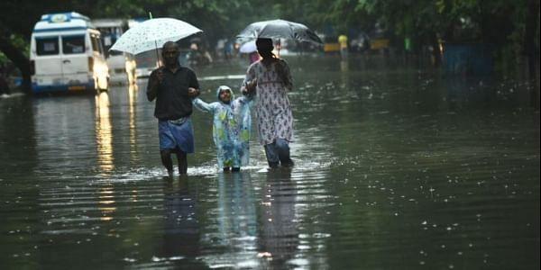 Flooded streets of KK Nagar, Chennai. (Photo | Ashwin Prasath, EPS)