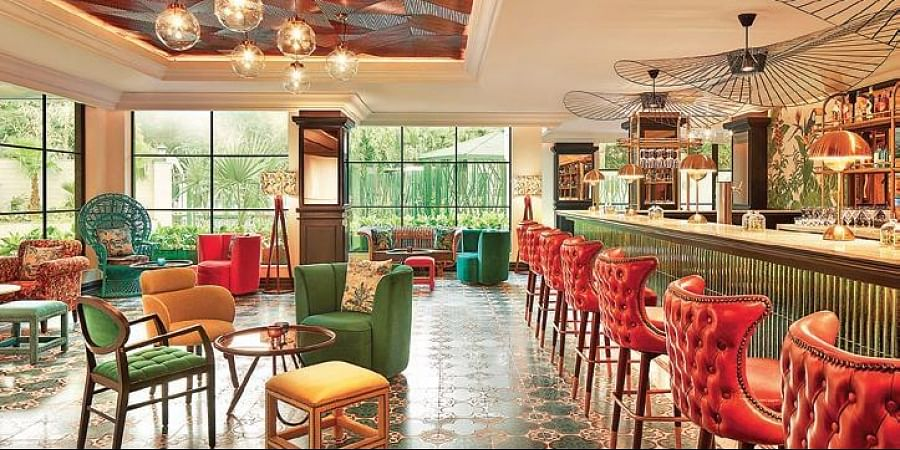 The Connaught is all about character.
