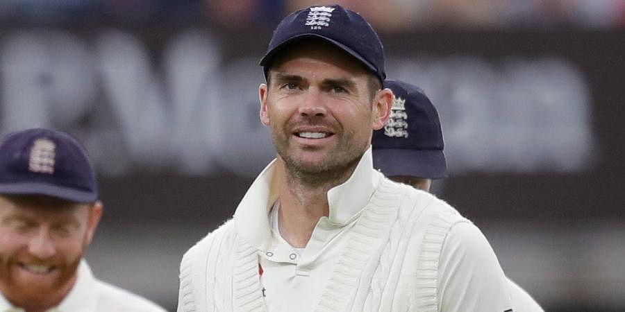 England cricketer James Anderson
