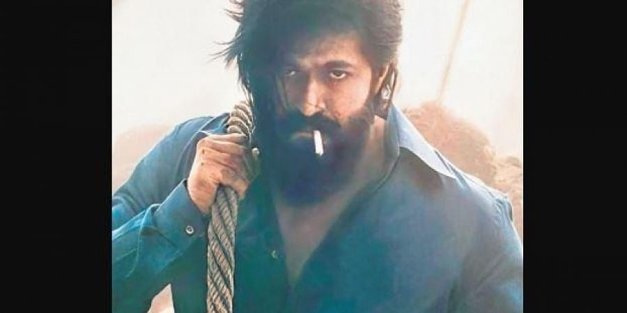 A still from KGF Chapter 2