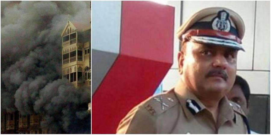 Rajvardhan Sinha (R) was one of the officers who had a key role in fighting terrorists during the 26/11 Mumbai terror attacks