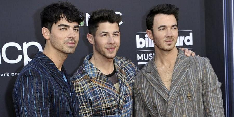 Pop superstars (From Left) Joe Jonas, Nick Jonas and Kevin Jonas