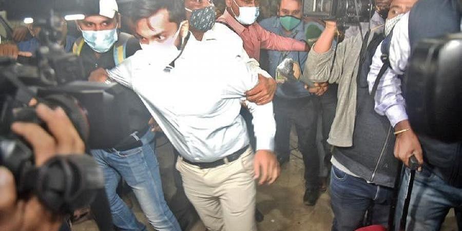 Akash Pathak arrives in Bhubaneswar on Thursday evening   Express