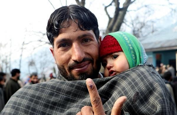 52 per cent turnout as first round of voting in DDC polls in Jammu & Kashmir passes off peacefully