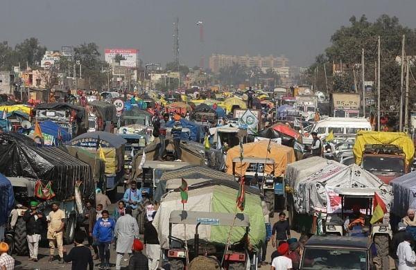 After night halt, Punjab farmers resume march towards Delhi