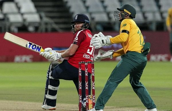 Du Plessis' fifty in vain as Jonny Bairstow powers England to win in first T20I