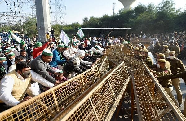KEY PLAYERS: The 'Delhi Chalo'call was given by the All India Kisan Sangharsh Coordination Committee. Several other organisations including Rashtriya Kisan Mahasangh and factions of the Bharatiya Kisan Union (BKU) came out in support. The march is being held under the banner of Samyukta Kisan Morcha.
